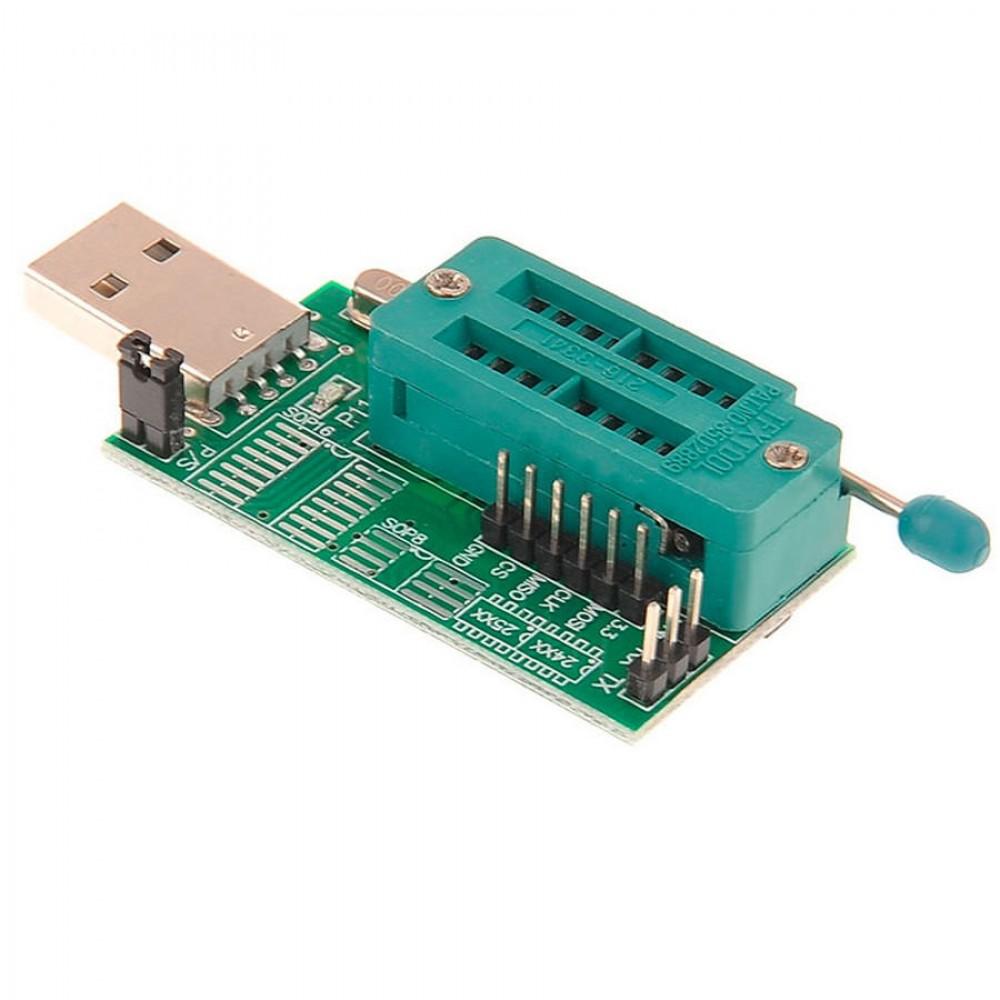 программатор 24 Eeprom и 25 Spi Flash на Ch341a